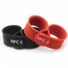 HF - RFID Silicone Wristband OP025 (Clap on wristband)